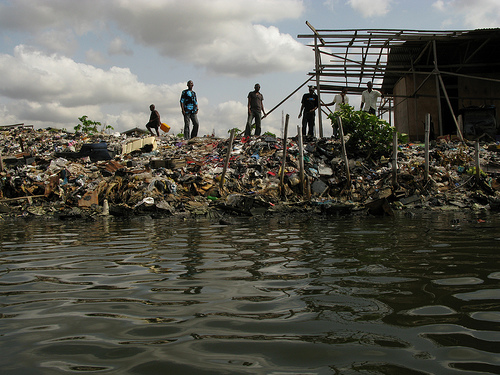 Water Pollution In Lagos Friends Of The Environment Nigeria
